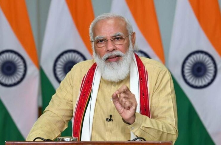 PM Modi Tweets: Big vaccine push over 84 lakh doses given on Day 1 of new Covid vaccination phase in India