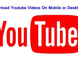 How to Download YouTube Videos on Mobile or Desktop by One Click